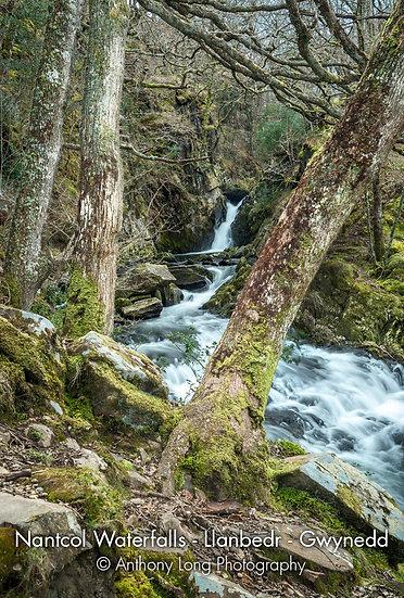Nantcol Waterfalls, Llanbedr, Gwynedd, North Wales