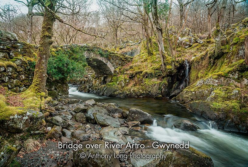 Bridge over the river Artro, Gwynedd, North Wales