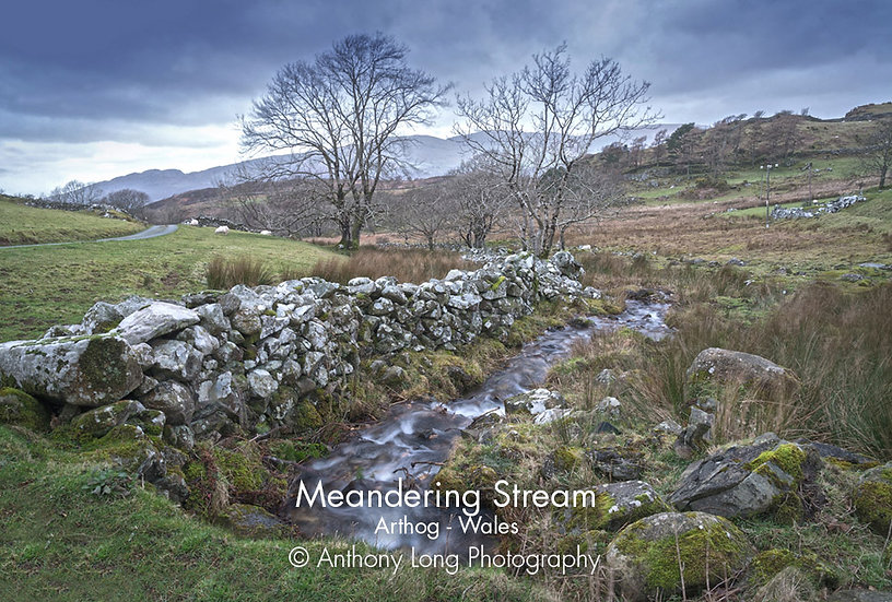 Meandering Stream near Arthog, North Wales