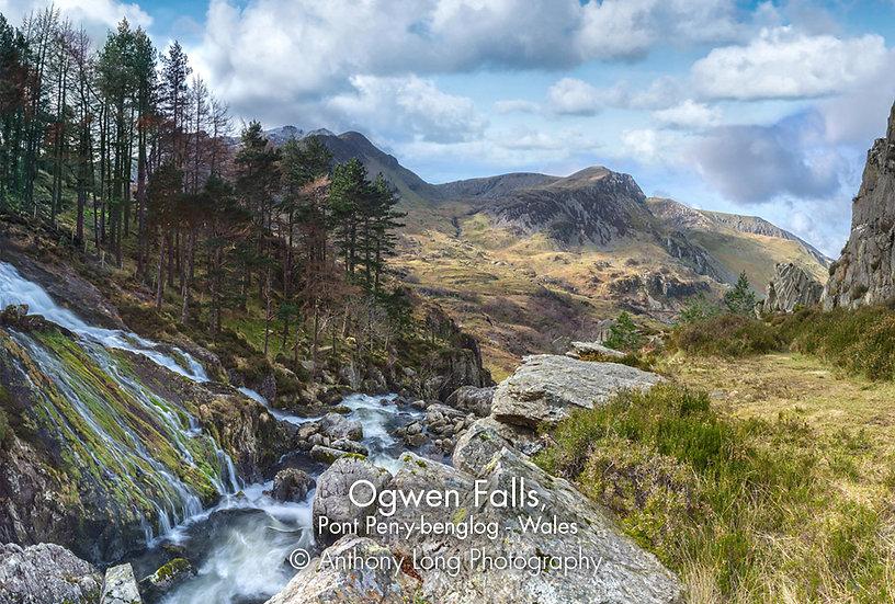 Ogwen Falls, Nant Ffrancon Valley, North Wales