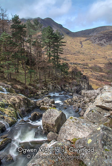 Ogwen Waterfalls, Ogwen Valley, North Wales