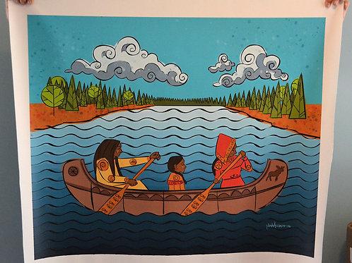Wolastoq Canoe