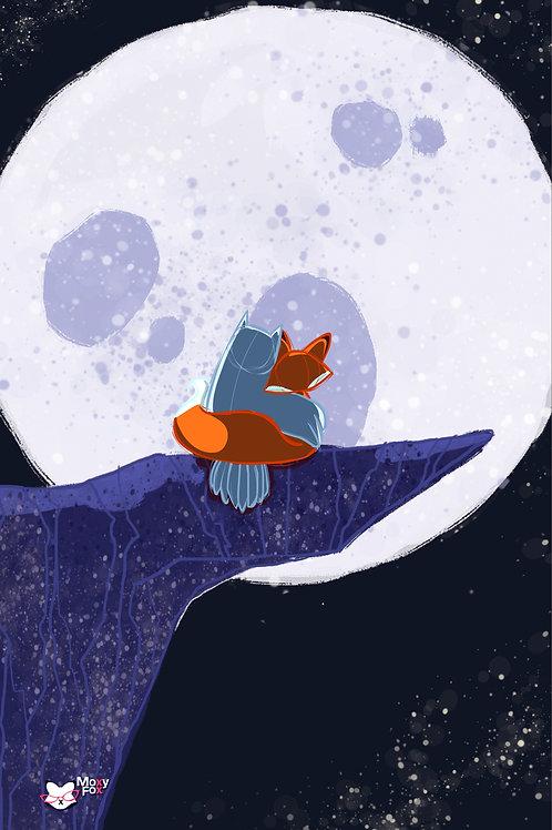 Owl & Fox Cliff Love