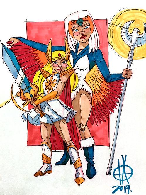 SheRa & Sorceress ORIGINAL
