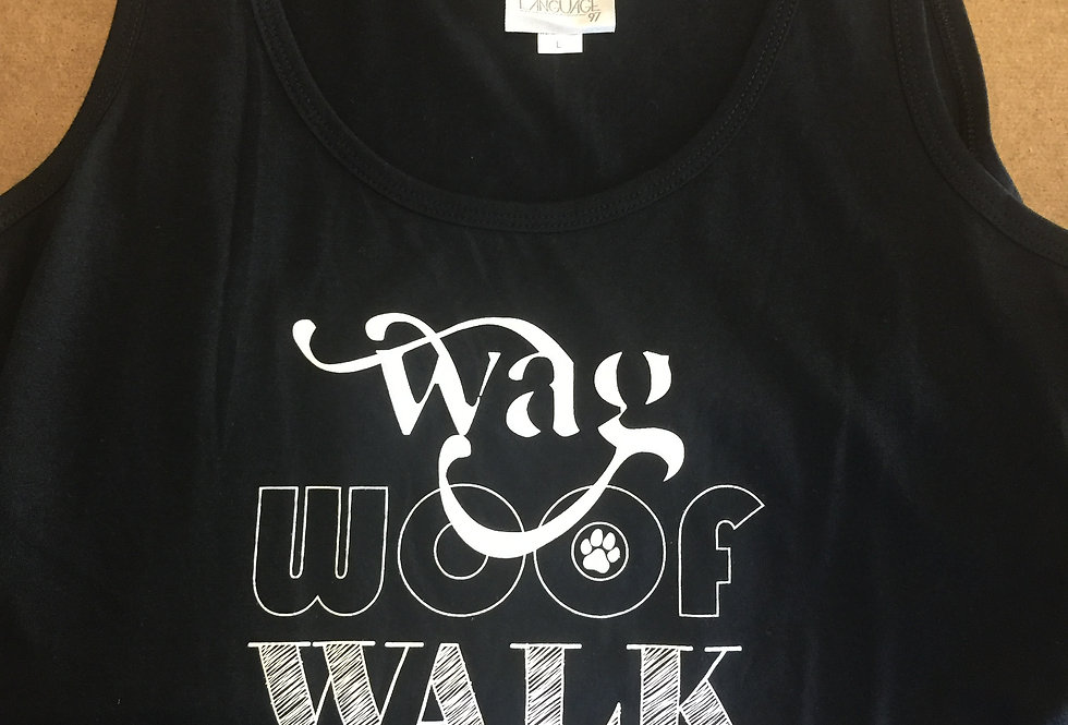 Wag Repeat Tank Top