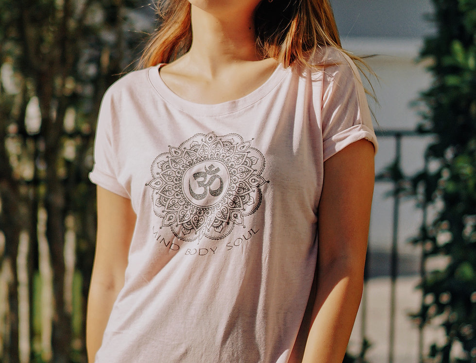Mind Body Soul Eco Gauze SS T