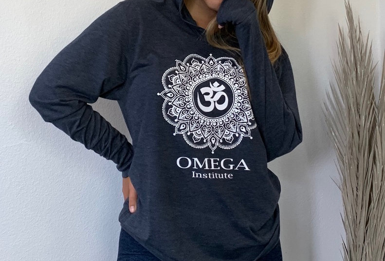 Omega Soul Mandala Navy Triblend Hoodie