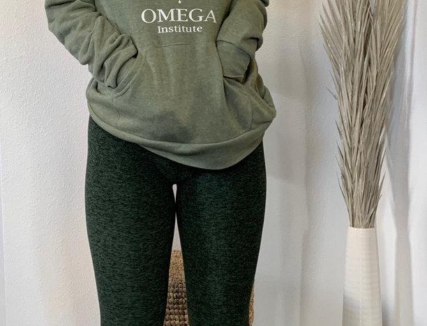 Forest Green Full Length Yoga Legging