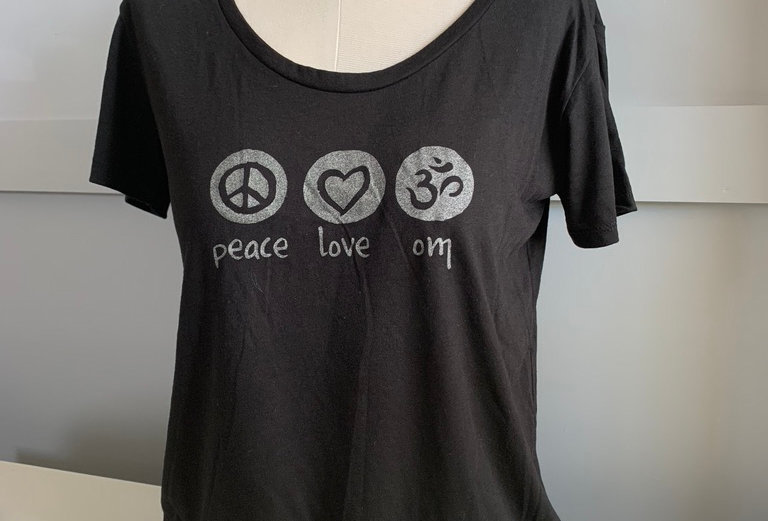 Peace Love OM Festival SS T