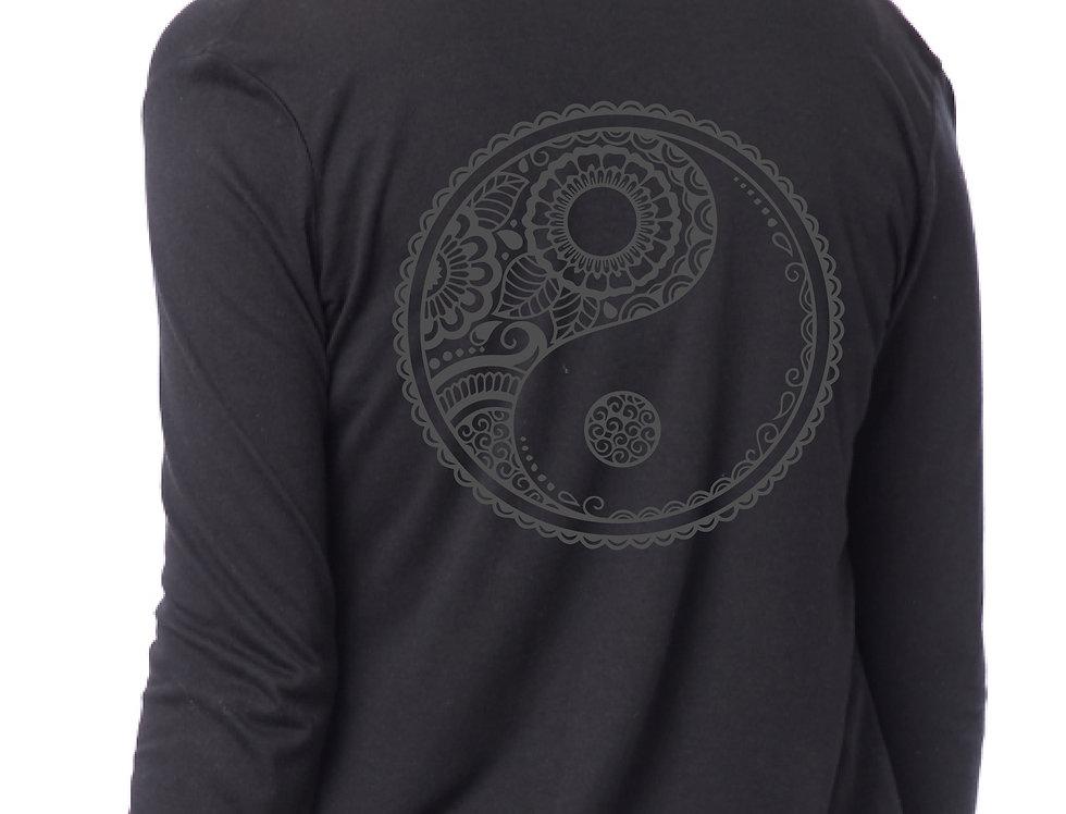 Yin Yang Back Print Wrap