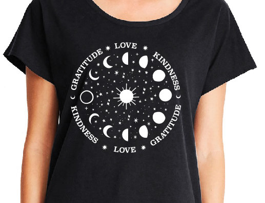 Moon and Stars Dolman SS T