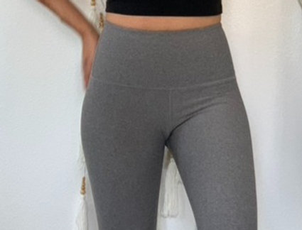 Silver Grey Yoga Legging