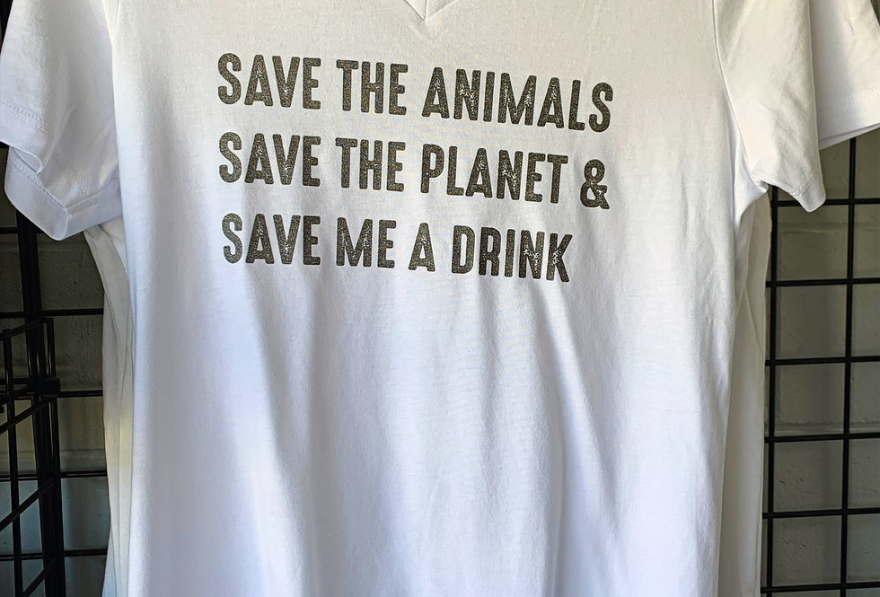 Save the Planet Modal V SS Tee