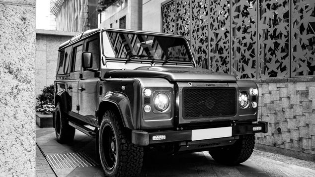 Twisted Land Rover Defender with Corvette V8 #SOLD
