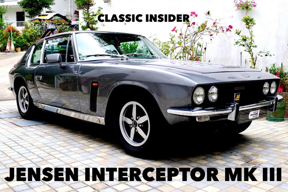 Jensen Interceptor MK III | $388K HKD (Reduced)