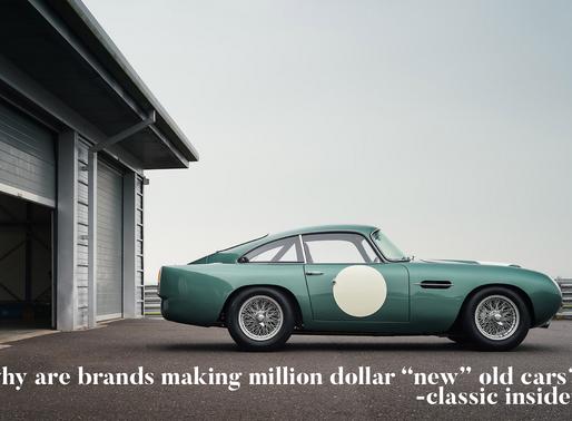 """談復刻車熱潮對傳統經典車市場有否影響 Why are brands making million dollar """"new"""" old car"""
