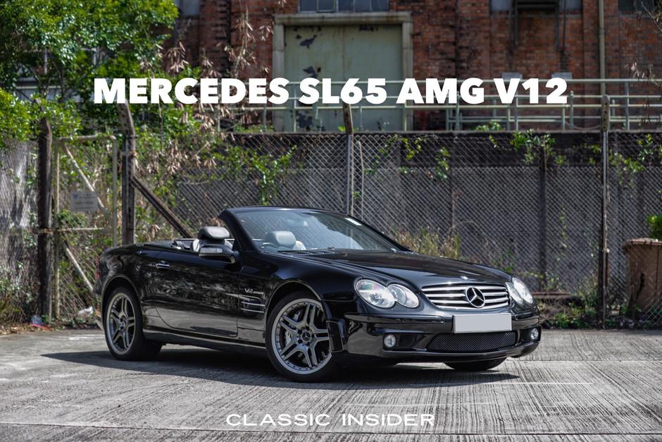 Mercedes SL65 AMG V12 Bi-Turbo   $650K HKD