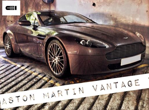 Test Drive Report Vol. 3 | Aston Martin Vantage V8