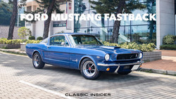 Ford Mustang GT350 Fastback Tribute | $1.18M HKD
