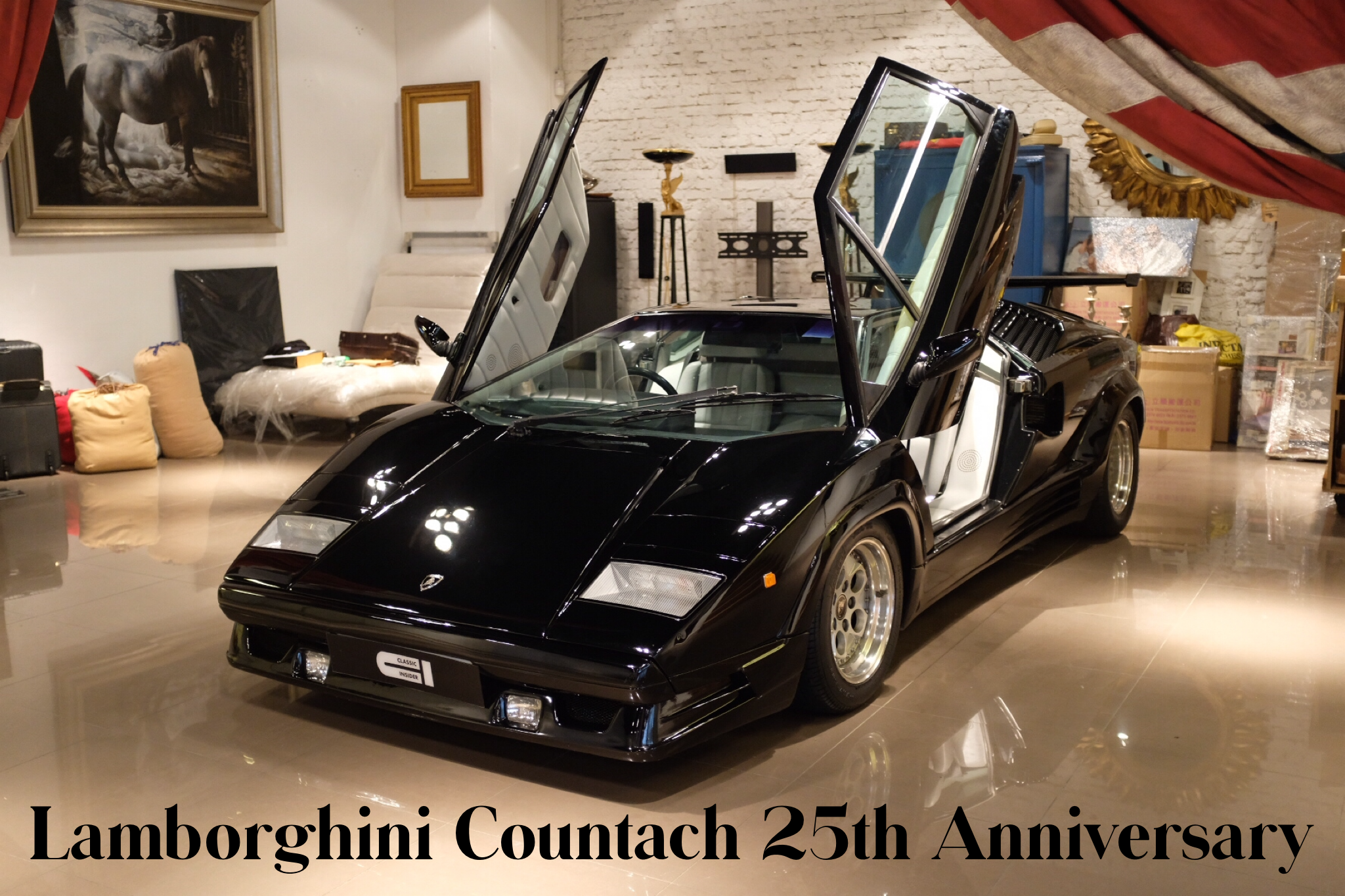 Lamborghini Countach 25th Anniversary For Sale Classic Insider
