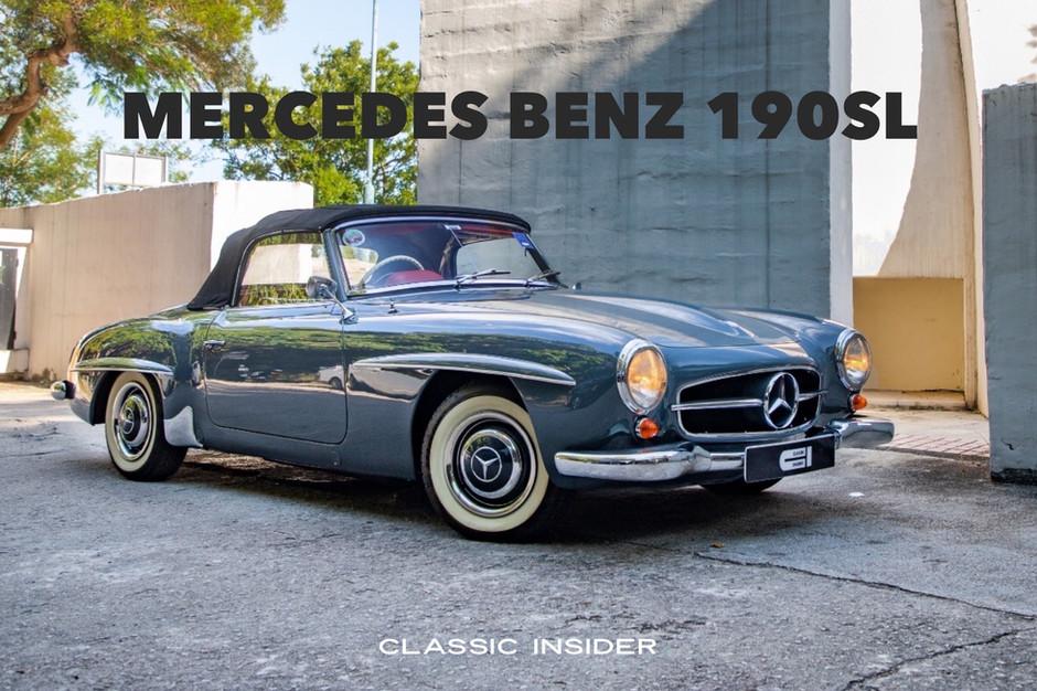 Mercedes Benz 190SL   $2.48M HKD