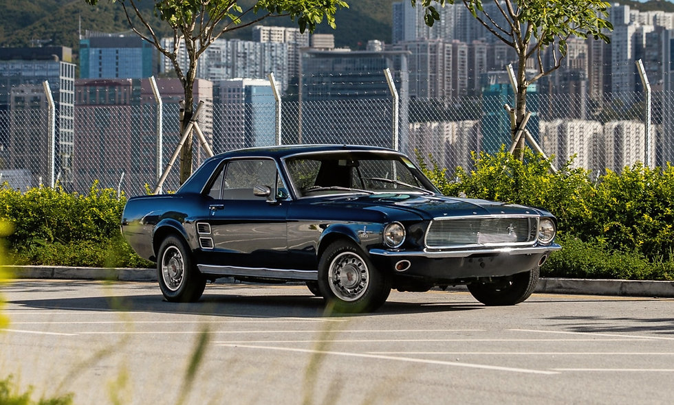 1967 Ford Mustang Coupe Manual