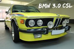 BMW E9 3.0 CSL | SOLD