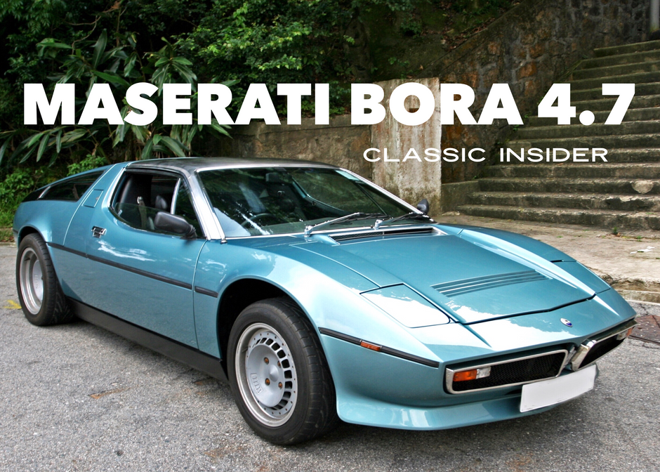 Maserati Bora 4.7   $1.5M HKD
