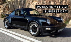 Porsche 911 Carrera 3.2 Supersport | $830K HKD