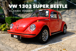 Volkswagen 1303 Super Beetle | #SOLD