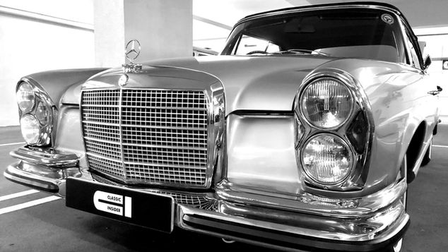 Mercedes 280SE 3.5 Convertible SOLD