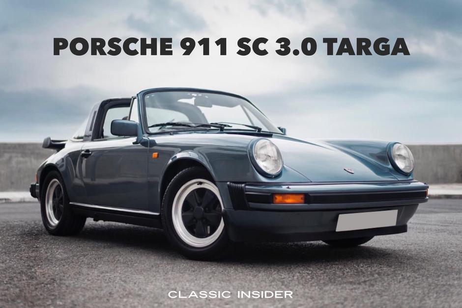 Porsche 911 SC 3.0 TARGA | $1.08M HKD