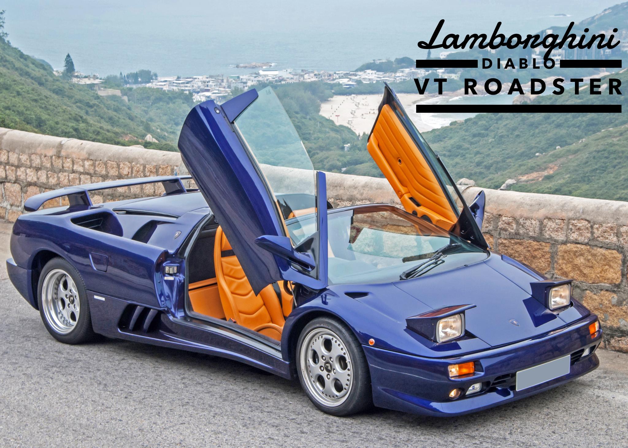 Lamborghini Diablo Vt Roadster For Sale Classic Insider