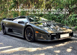 Lamborghini Diablo SV   #SOLD