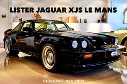 LISTER JAGUAR XJS 7.0 LE MANS COUPE | #SOLD