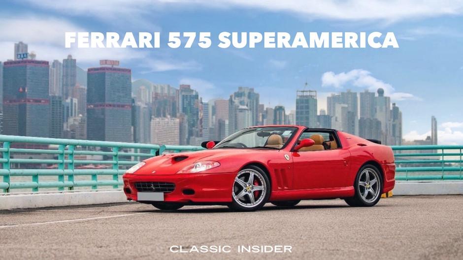 Ferrari 575 SuperAmerica | $3.19M HKD