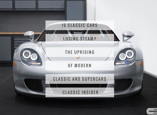無人玩古董?八十後經典車之崛起 Classic cars losing steam? The uprising of modern classic and supercars