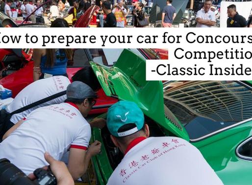 如何為老爺車選美作準備 PART 1 | How to prepare your car for Concourse