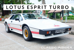 Lotus Esprit Turbo | SOLD