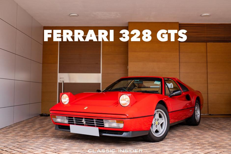 1987 Ferrari 328 GTS   $1.28M HKD
