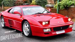 Ferrari 348 GT Competizione 1 of 8 RHD | SOLD