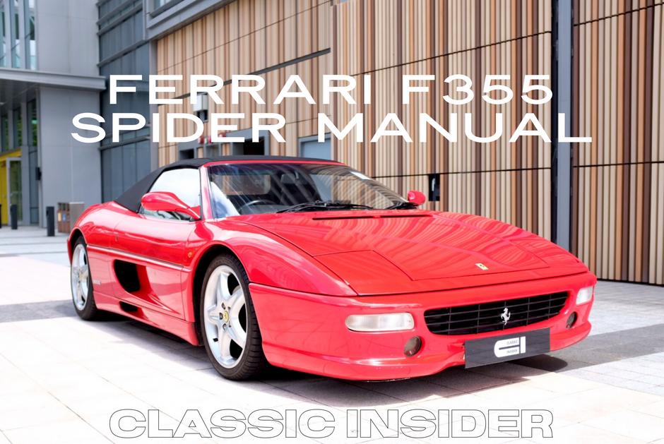 Ferrari F355 Spider Manual   $1.05M HKD