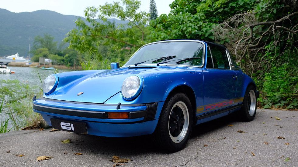 1979 Porsche 911SC Targa Manual
