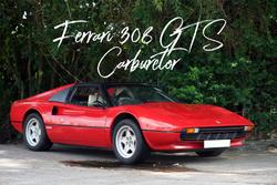 Ferrari 308 GTS Carburetor   N/A