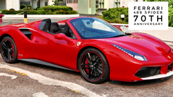 Ferrari 488 Spider 70th | $3.6M HKD/ $465K USD  (Unregistered)