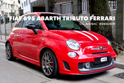 Fiat Abarth 695 Tributo Ferrari | #SOLD