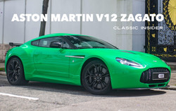 Aston Martin V12 ZAGATO | $4.3M HKD (Reduced)