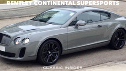 Bentley Continental SuperSports | #SOLD