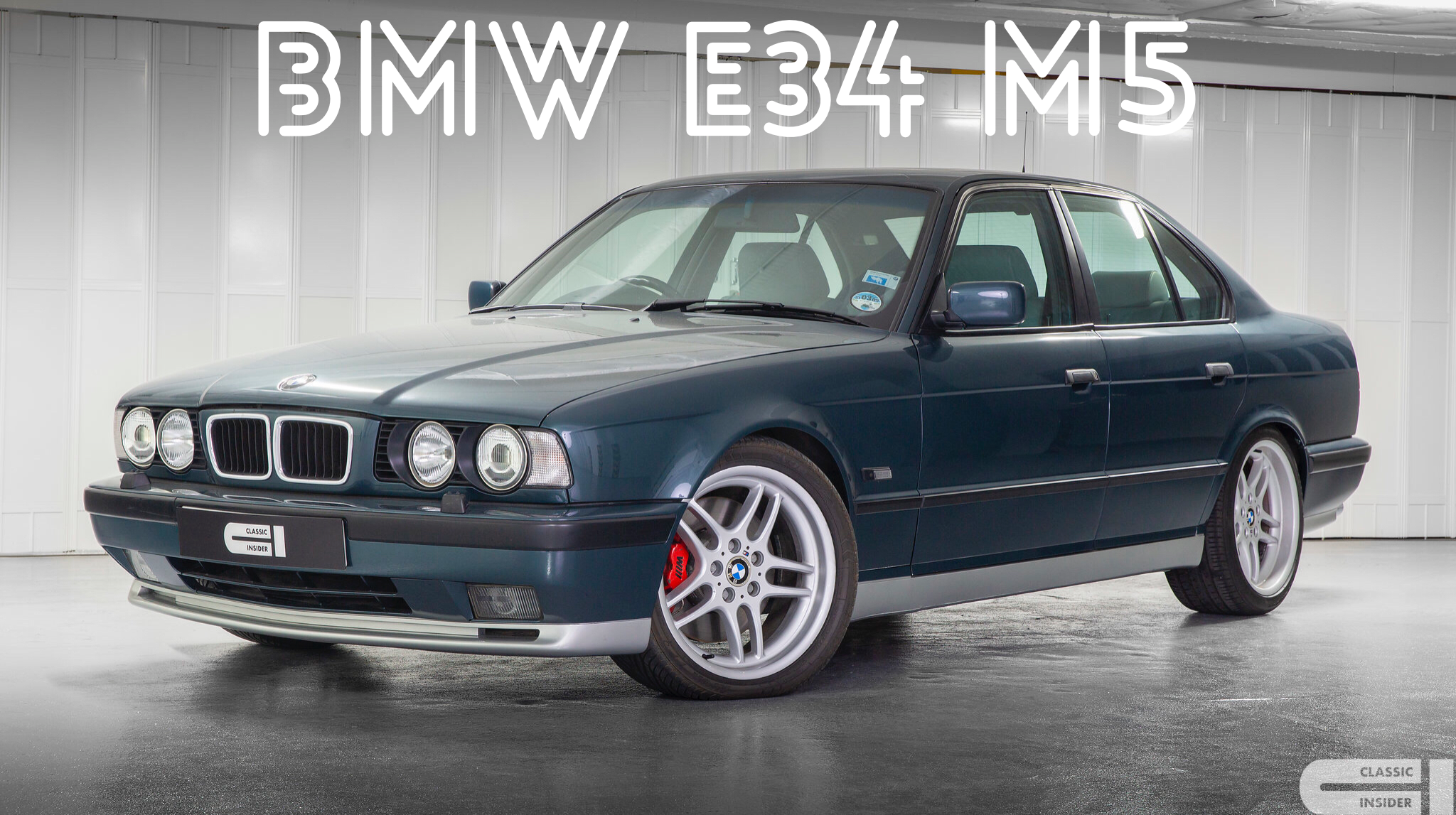Pictures: lovely limited edition bmw m5 e34 bmw m5 forum and m6.