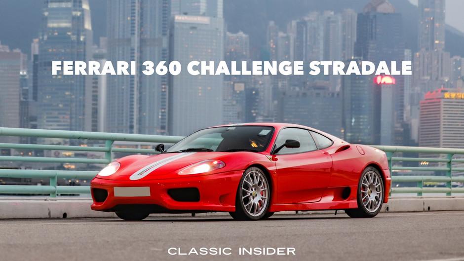 Ferrari 360 Challenge Stradale   $3.08M HKD